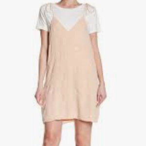 English Factory Embroidered Twofer Dress NWT Sz XS